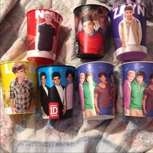One direction cups